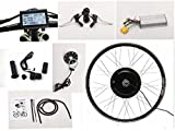NBPower Kit de conversión de bicicleta eléctrica 66 cm 48 V 1500 W, kit de Ebici, motor de...