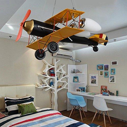 ✚ Guo Kinderzimmer-Lichter-Jungen-Schlafzimmer-Flugzeug-Lichter