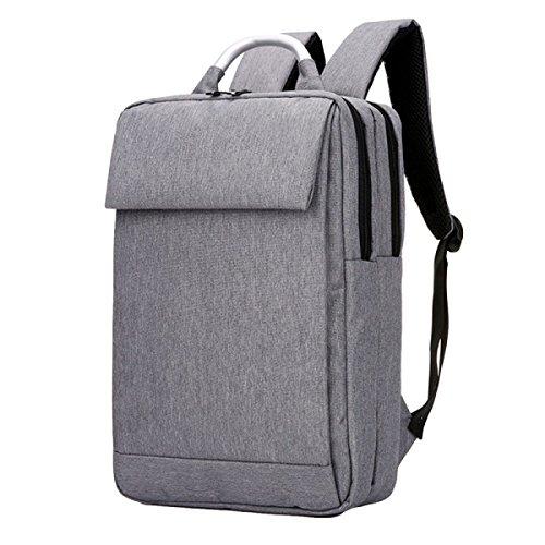 Business-Tasche Schultertasche Rucksack Tasche Tasche Tasche Computer Tasche Freizeit Einfache Wilde Atmosphäre Grey
