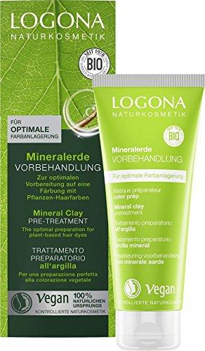 LOGONA Naturkosmetik Mineralerde Vorbehandlung, Vegan, 2er Pack(2 x 100 ml)