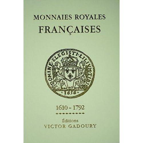 Monnaies royales françaises, 1610-1792