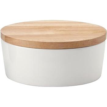 kitchen craft klassik kollektion keramik brotkasten mit holzdeckel k che haushalt. Black Bedroom Furniture Sets. Home Design Ideas
