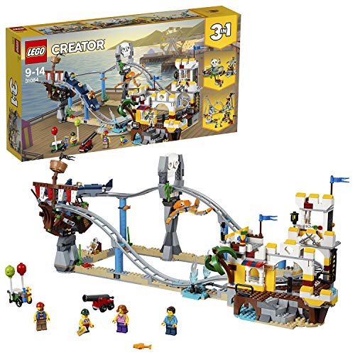 Business Kostüm Modern - LEGO 31084 Piraten Achterbahn