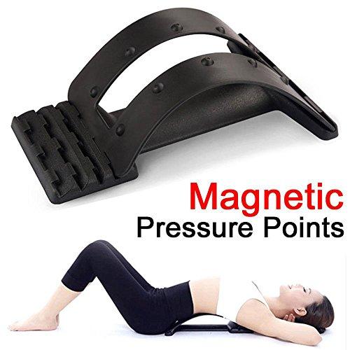 g-smart Magic Lendenwirbelstütze Unterstützung Stretcher Wirbelsäule Stretcher Massagegerät, Gerät für Rücken Strecken Schmerz-spinale Dekompression