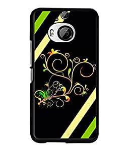 Fuson 2D Printed Designer back case cover for HTC One M9 Plus - D4354