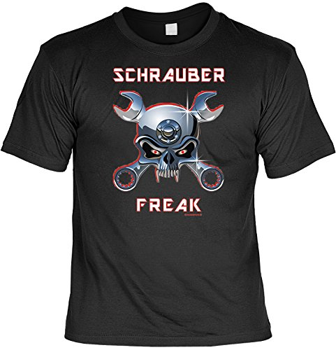 Witziges Sprüche Fun T-Shirt : Schrauber (Freak Kostüme Fest)