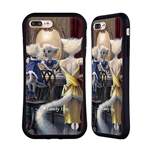Ufficiale Lonely Dog Juke Hounds Vita Case Ibrida per Apple iPhone 7 Diritto Di Sorella Minore