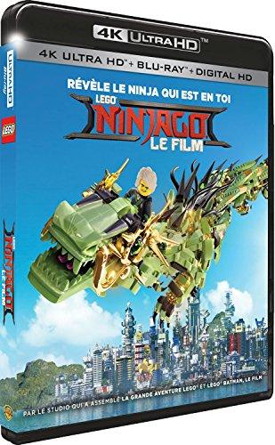 Lego ninjago, le film 4k ultra hd [Blu-ray] [FR Import]