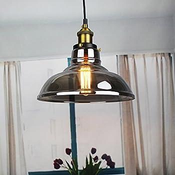 LAMPSPARK Vintage Retro Style Glass Pendant Light Lighting Fixtures Chandeliers Lamps