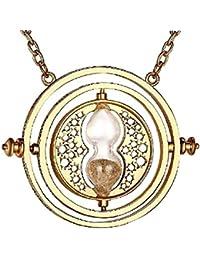 Inception Pro Infinite Collier - Horloge - Sablier - Sable Beige - Couleur Or
