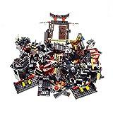 Bausteine gebraucht 1 x Lego System Gebäude Teile für Set Modell Ninjago 2504 Spinjitzu Dojo Tor braun 79014 Die Schlacht von Dol Guldur Incomplete unvollständig