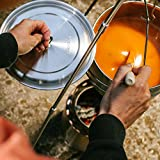 Solo Stove Campfire – Der größte Solo Stove: Leichter Holzofen mit Rocket-Kochsystem für Backpacking, Camping, Überlebenstraining, Vorbereitung auf Notfälle. Verbrennt Zweige – KEINE Batterien oder Kanister mit Flüssigbrennstoff notwendig. - 5