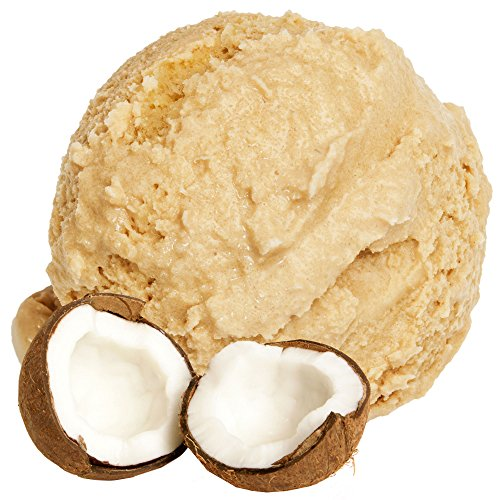Kokosnuss Geschmack 333 g Gino Gelati Eispulver für Ihre Eismaschine
