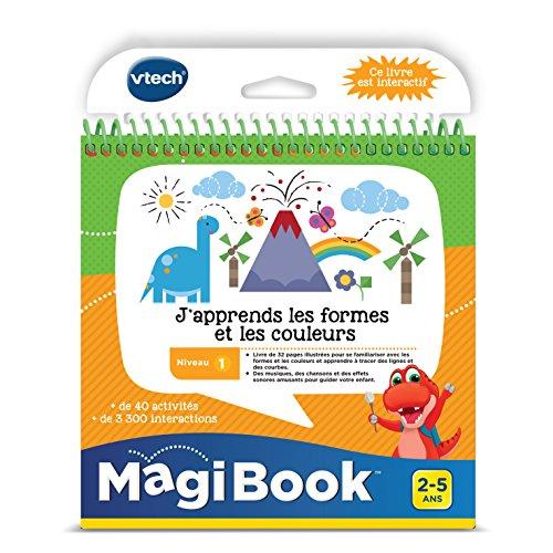 VTech - 480505 - MagiBook - Ich lernt das Form und den Farbe - Audio-bücher Bildungs -