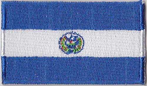 El Patch (Flaggen Aufnäher Patch El Salvador Fahne Flagge - 6 x 3,5 cm)