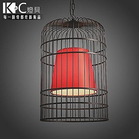 San Ferro battuto antico uccello gabbia lampada d'epoca in ferro battuto uccello gabbia nido lampada stile cinese lampada moderna ristorante club dopo Lampadario ristorante