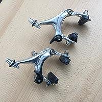 Bremsen Satz VR+HR Rennrad 43-57 mm Aluminium silber Bremskörper