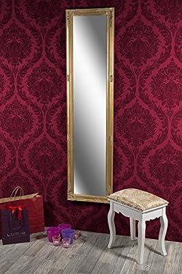 Spiegel Wandspiegel antik gold Barock CARA 160 x 40 cm