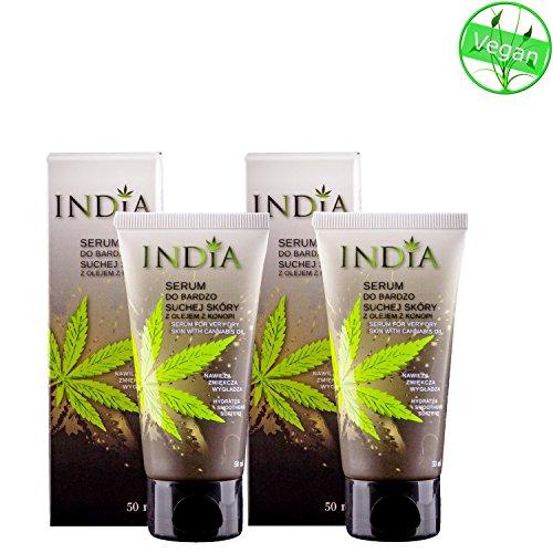 Hautcreme Serum im Doppelpack mit Cannabis Öl für sehr trockene Haut und bei Neurodermitis 10 EURO...