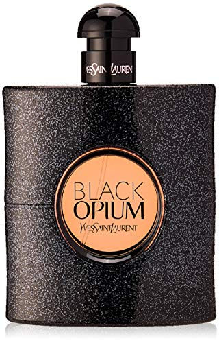 Yves Saint Laurent Black Opium femme/ women, Eau de Parfum, Vaporisateur/ Spray, 1er Pack (1 x 90 ml) (Parfüm Kaffee,)
