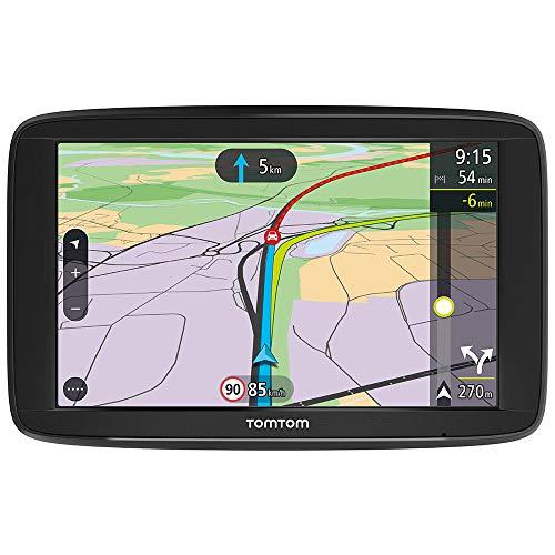 Oferta de TomTom Via 62 - Navegador GPS (6 Pantalla táctil, resolución de 800 x 480 Pixeles, Ranura para Tarjeta MicroSD, Conector USB) (versión importada Italia) Negro