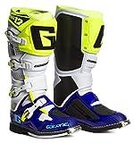 Gaerne Motocross-Stiefel SG 12 Blau Gr. 45