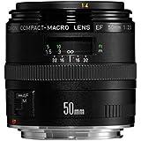 Canon - 2537A012AA - Objectif - EF 50 mm f/2.5 Macro (Reconditionné Certifié)