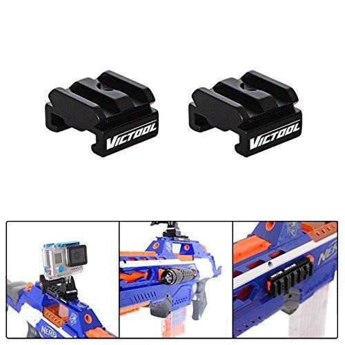Nerf auf Picatinny Gun Schiene Adapter + Bullet Schultergurt + Bullet Armband für Nerf