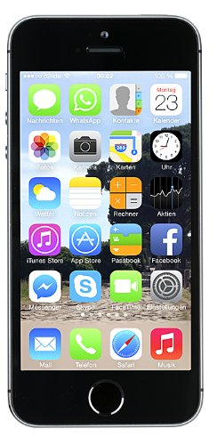 Apple iPhone 5S Smartphone (4 Zoll (10,2 cm) Touch-Display, 64 GB Speicher, iOS 7) spacegrau