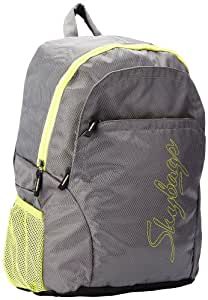 Skybags Pulse PVC Grey Casual Backpacks (PULS02GRY)