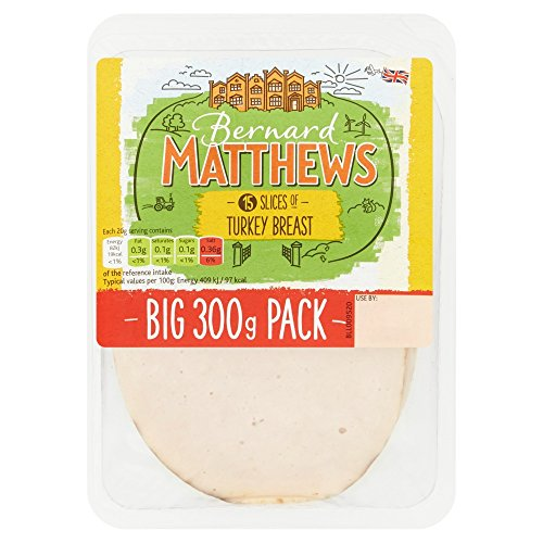 Bernard Matthews Turkey Breast Slices, 300 g