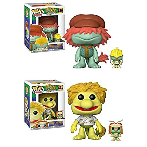 Funko POP Fraggle Rock Boober with Doozer Wembley with Cotterpin Vinyl Figure Set NEW
