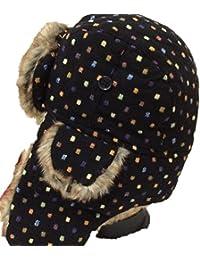 MHGAO Ear Cappellino Invernale Ispessimento Caldo Antivento Esterna Unisex Cappello  Ushanka 50ecdda52107