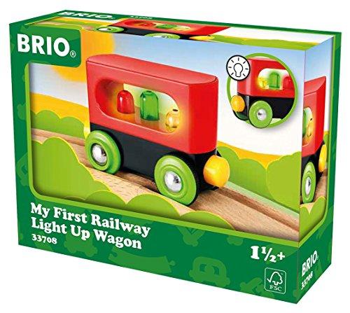 Brio - 33708 - Wagon - mon premier wagon lumineux