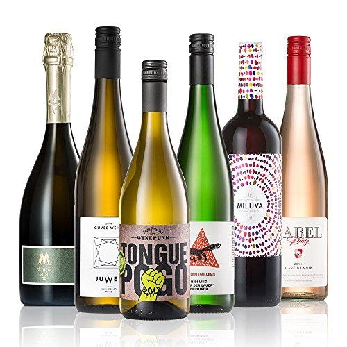GEILE WEINE Weinpaket WEIN FÜR SIE (6 x 0,75l) Weißwein, Rotwein, Rosé und Prickelndes für...