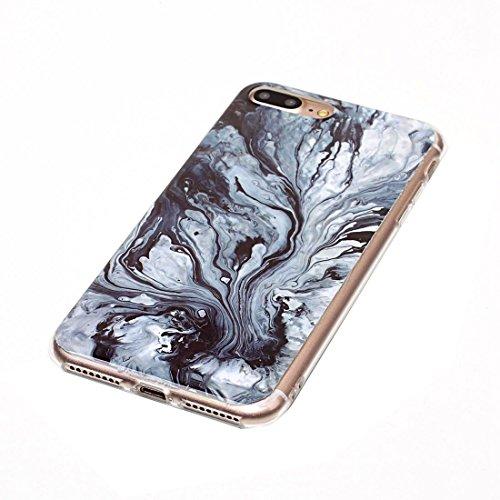 Hülle für iPhone 7 plus , Schutzhülle Für iPhone7 Plus Blue Marmor Muster Soft TPU Schutzhülle ,hülle für iPhone 7 plus , case for iphone 7 plus ( SKU : Ip7p1209f ) Ip7p1209g