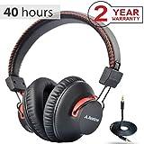 c4f715e37cc Avantree 40 horas aptX Hi-Fi Auriculares Diadema Bluetooth Inalambricos  para TV con micrófono,