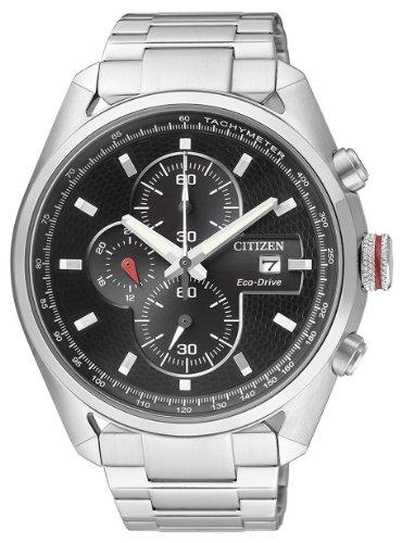 Citizen chrono street eco drive ca0360-58e - orologio da polso uomo