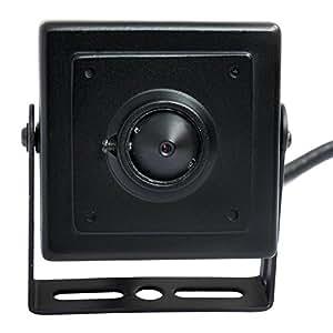 ELP Telecamera H.264 1080P Industriale Mini IP Videocamera di Sorveglianza con Nascosto Pinhole Lenti,Onvif