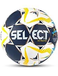 Select Ultimate cl de balonmano, color blau/Weiß/Gelb, tamaño 2