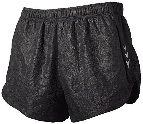 CRIVIT® Damen Laufshorts im angesagten Knitterlook (Gr. 42, schwarz)