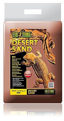 Exo Terra Desert Sand, 4.5 Kg, Red