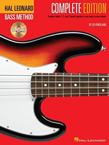 Electric Bass Method Complete Édition + 2cd: Complete Edition