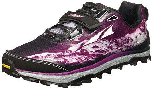Altra King MT off Road Scarpe da Corsa Grigio/Magenta Donna, Grey/Magenta