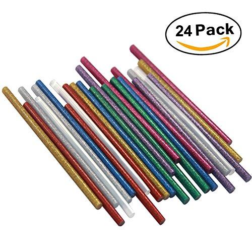 ewparts-24-barras-silicona-caliente-7mm-200mm-adhesivos-coloreados-del-arma-del-pegamento-caliente-d