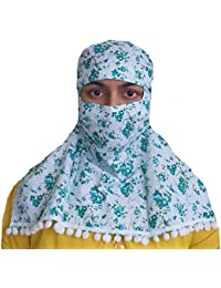 Generic Mantilla Women's Ready-made Anti-pollution Scarf - Free Size
