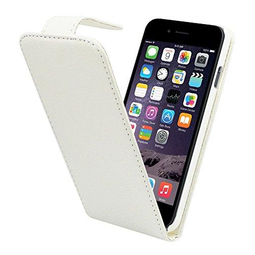Colorfone PREMIUM Business Case / Hülle / Cover/ Tasche / Schutzhülle / Handyhülle / PU Leder für Apple iPhone 6 Schwarz Weiß