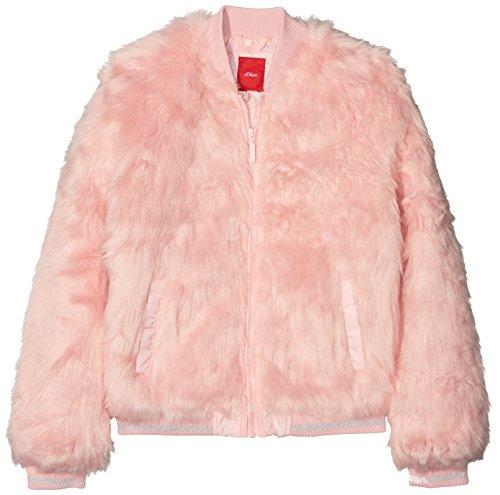 s.Oliver Mädchen Jacke 73.808.51.5011, Pink (As Original 0009), 140 (Herstellergröße: S)