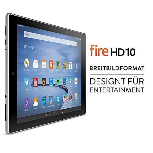 Amazon Fire HD 10-Tablet (10,1 Zoll) HD Display - 2