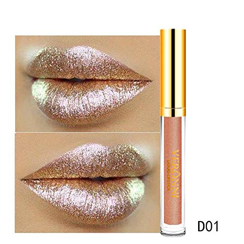 MERICAL 10 Color Magic Glitter Flip lippenstift set Flip Pull Matte Pearl Lip Gloss Clu A